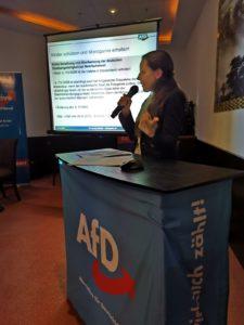 Infoabend mit Dr. Verena Wester zur EU-Wahl     AfD Brühl
